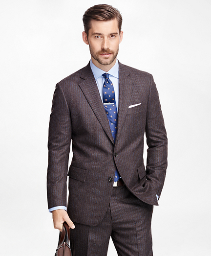 Own Make Alternating Stripe Suit