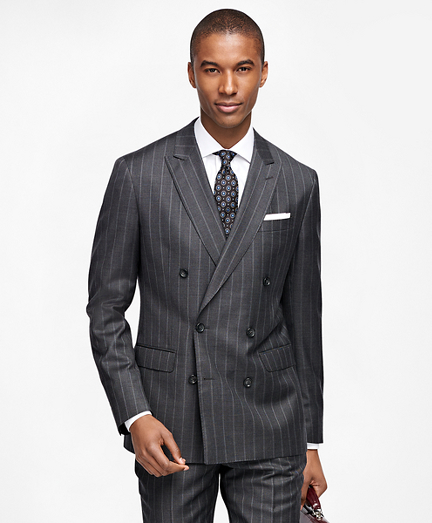 Milano Fit Wide Stripe 1818 Suit