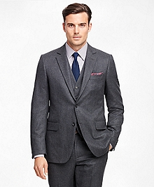 Fitzgerald Fit Three-Piece Flannel 1818 Suit