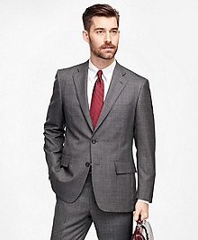 Regent Fit Plaid 1818 Suit