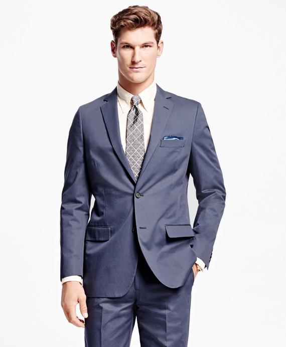 Fitzgerald Fit Twill Suit Blue