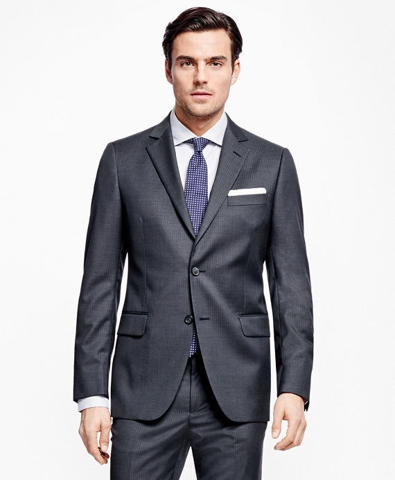 Fitzgerald Fit Tic with Stripe 1818 Suit Charcoal