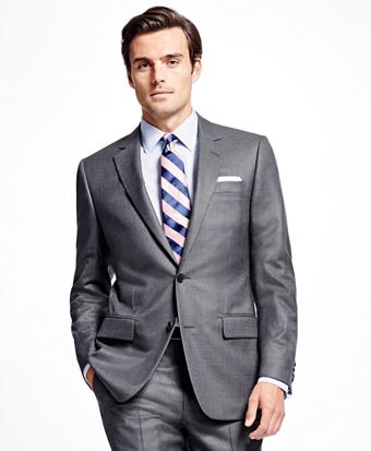 Fitzgerald Fit Golden Fleece® Bead Stripe Suit