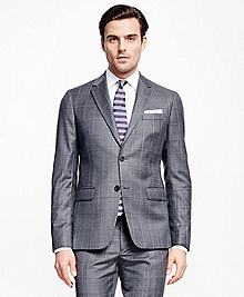 Milano Fit Multi Windowpane 1818 Suit
