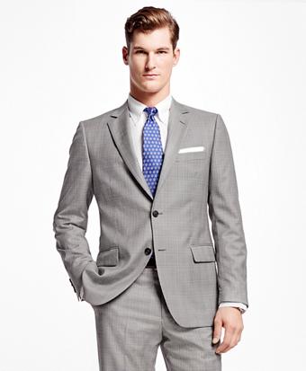 Fitzgerald Fit Plaid with Deco 1818 Suit