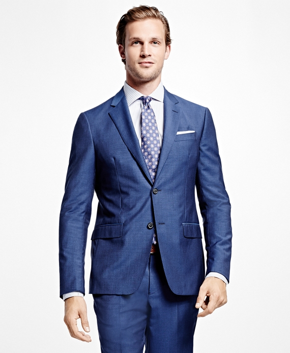 Milano Fit Two-Button 1818 Suit Blue