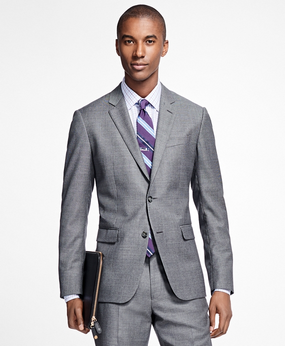 Milano Fit Tic 1818 Suit Grey