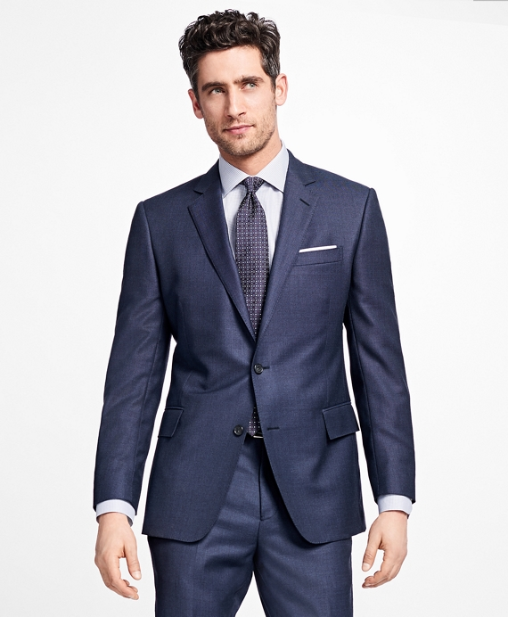 Regent Fit Bird's-Eye 1818 Suit Blue
