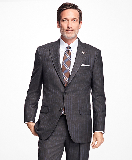 Golden Fleece Madison Fit Stripe Suit