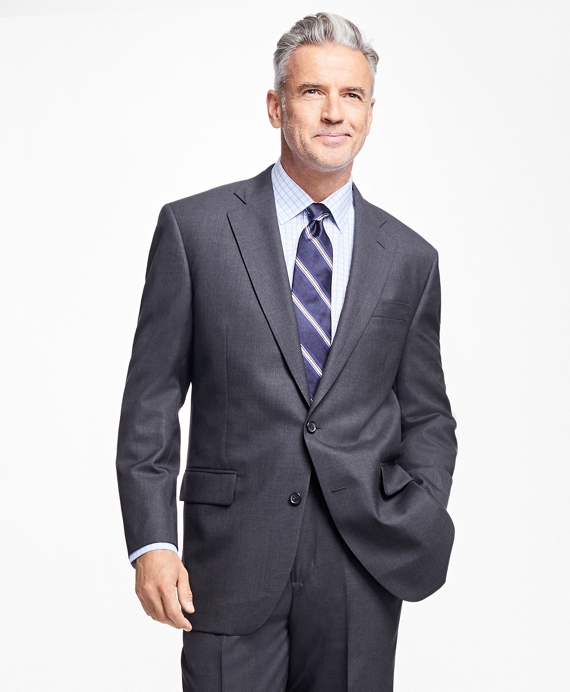 Madison Fit Saxxon™ Wool 1818 Suit Charcoal