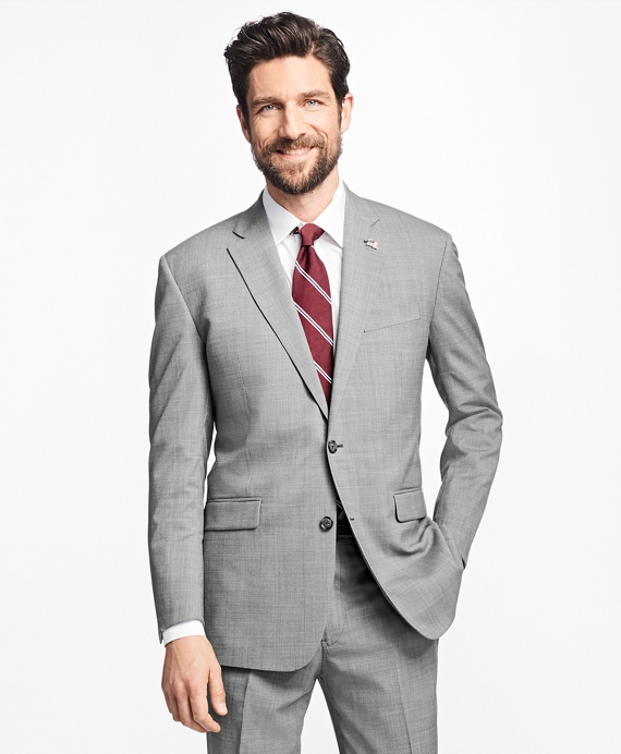 Milano Fit Saxxon Wool 1818 Suit Grey
