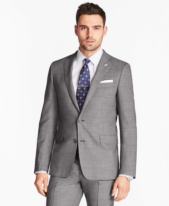 Regent Fit Grey Neat 1818 Suit Grey