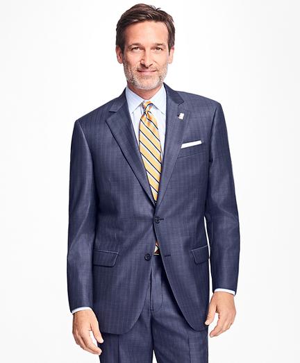 Madison Fit Saxxon Wool Stripe 1818 Suit