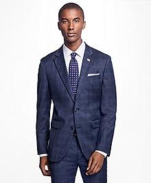Milano Fit Plaid Suit