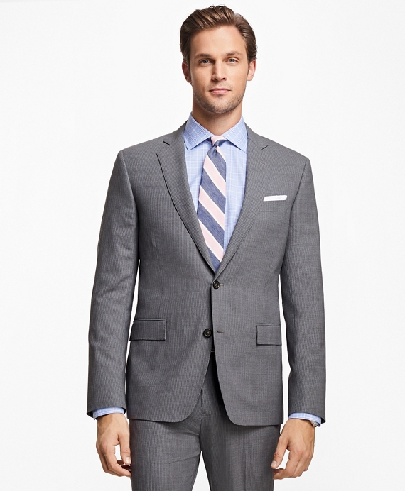 Regent Fit BrooksCool® Stripe Suit Grey