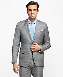 Regent Fit Windowpane 1818 Suit