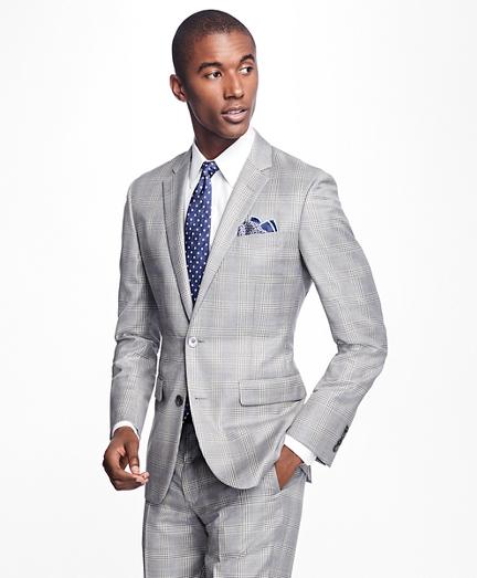 Milano Fit Plaid 1818 Suit