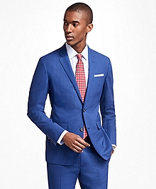 Milano Fit BrooksCool® Bright Blue Suit