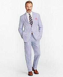 Madison Fit Stripe Seersucker Suit