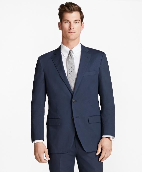 Madison Fit Stretch Cotton Suit Navy