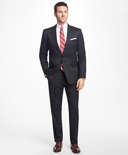 Regent Fit Stretch Wool Two-Button 1818 Suit