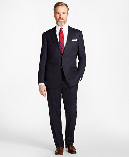 Madison Fit Stretch Wool Two-Button 1818 Suit
