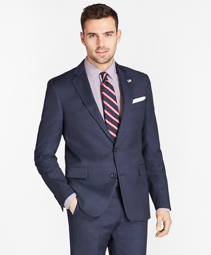 Regent Fit Tic with Stripe 1818 Suit
