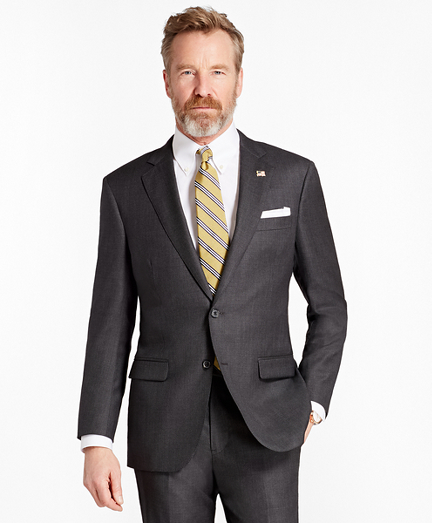 Madison Fit Saxxon Wool Neat 1818 Suit