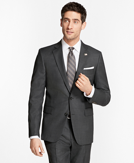Regent Fit Saxxon Wool Slim Stripe 1818 Suit