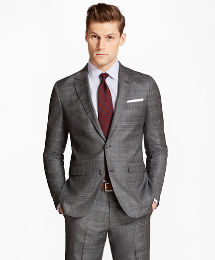 Milano Fit Multi-Plaid 1818 Suit