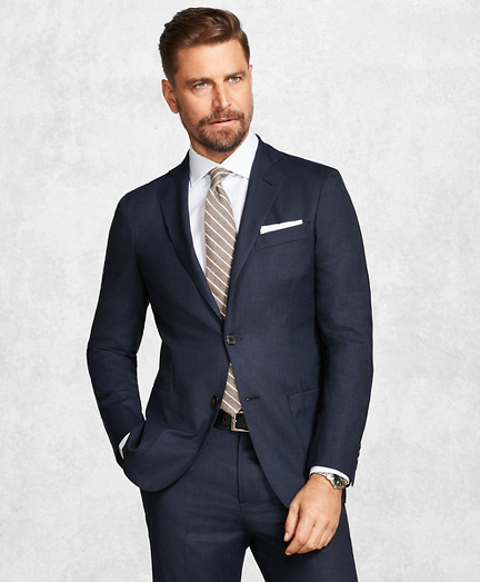 Golden Fleece® BrooksCloud™ Blue Neat Suit