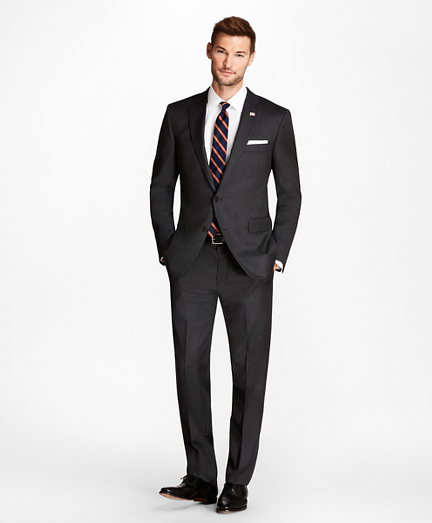 Regent Fit Grey Herringbone 1818 Suit
