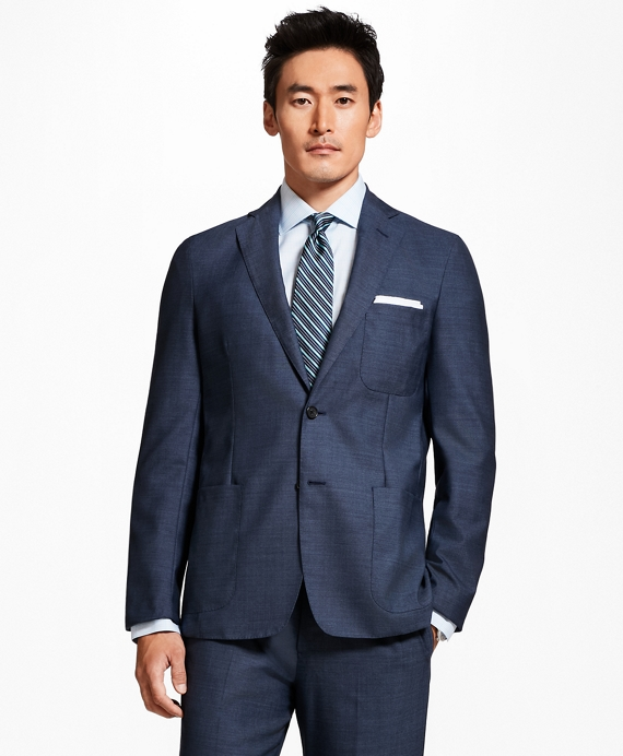 Regent Fit BrooksCloud™ 1818 Suit Medium Blue