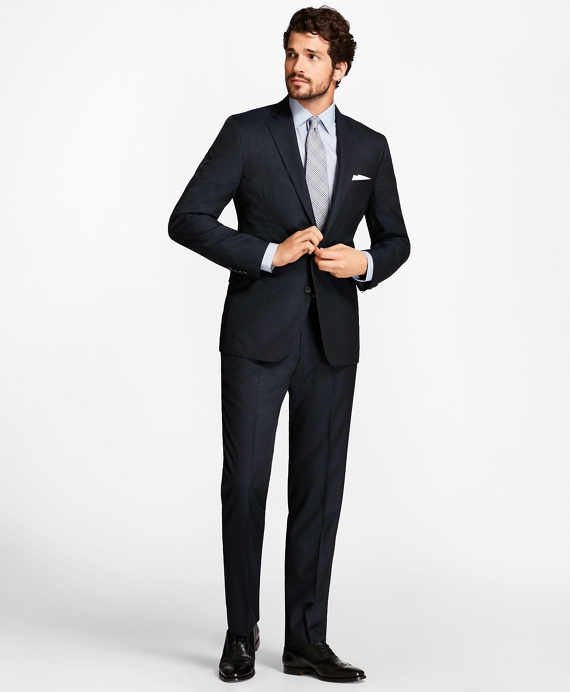 Golden Fleece® Regent Fit Stripe Suit Navy