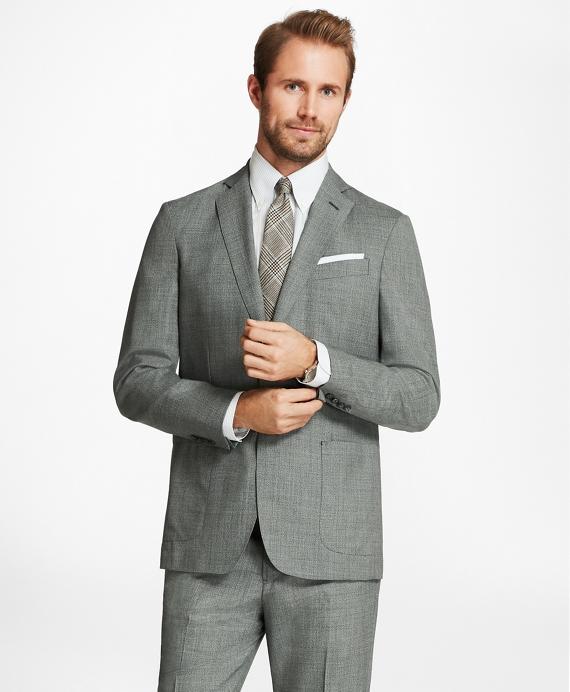 Regent Fit BrooksCloud™ Grey Suit Grey