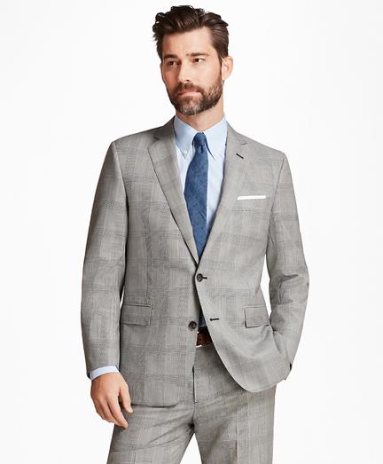 Regent Fit Plaid with Deco 1818 Suit