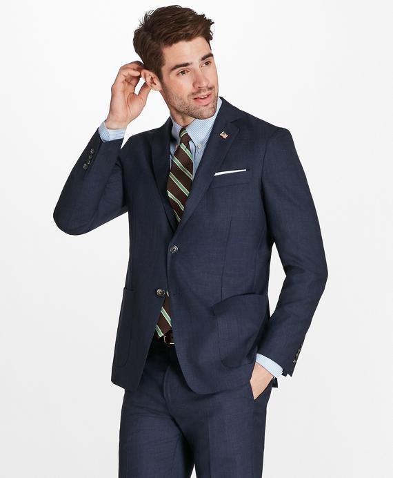 Regent Fit BrooksCloud™ Textured 1818 Suit Blue
