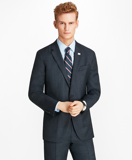 Milano Fit Open Plaid 1818 Suit