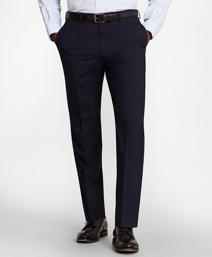 BrooksGate™ Regent-Fit Wool Suit Pants