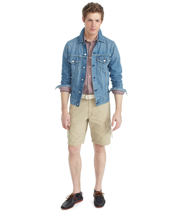 Levi's® for Brooks Brothers Trucker Jacket Denim