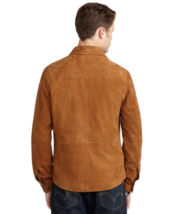 Suede Shirt Jacket - Brooks Brothers