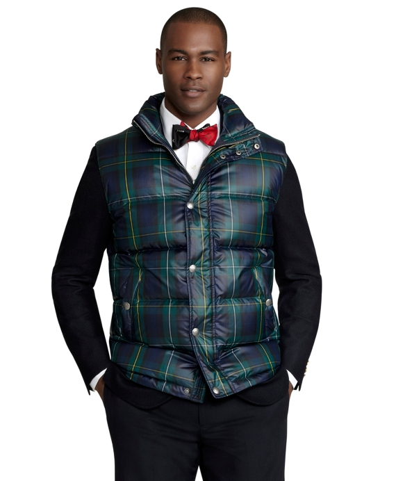 Green-Navy Plaid