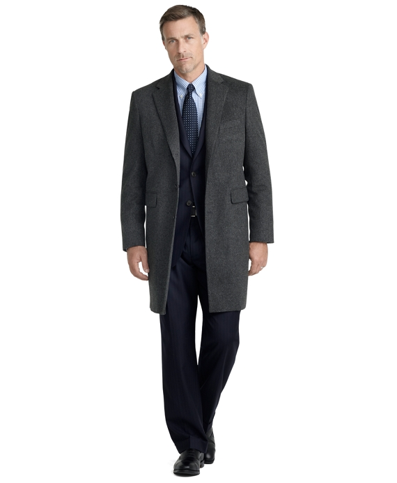 Wool Mason Topcoat Charcoal