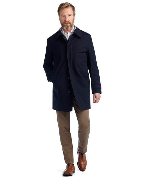 BrooksStorm® Car Coat Trench Navy