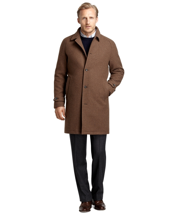 Double-Face Overcoat Brown