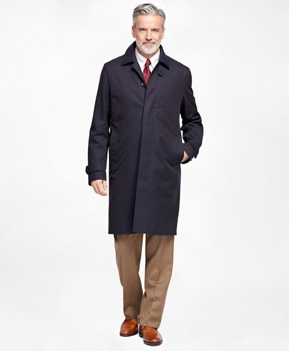 Men's Newbury Navy Trench Coat   Brooks Brothers