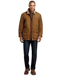 Brooks Brothers and Beretta Wax Jacket