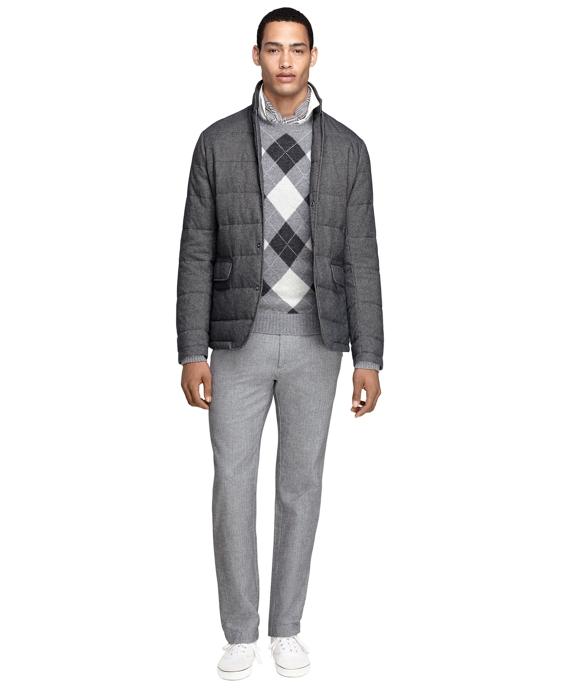 Quilted Blazer Grey