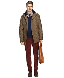 Tattersall Diamond Quilted Jacket