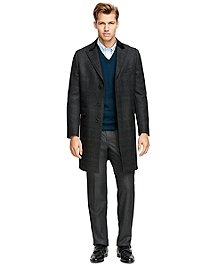 Saxxon Wool Chesterfield Overcoat